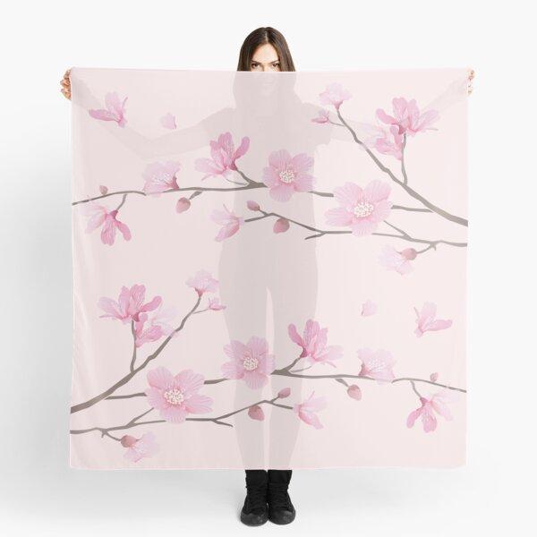 Cherry Blossom - Pink Scarf