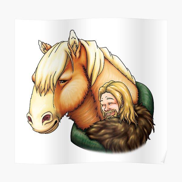 Lucien & Clive - Hug Poster