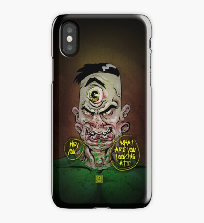 Steve, the Two-Faced Freak iPhone Case