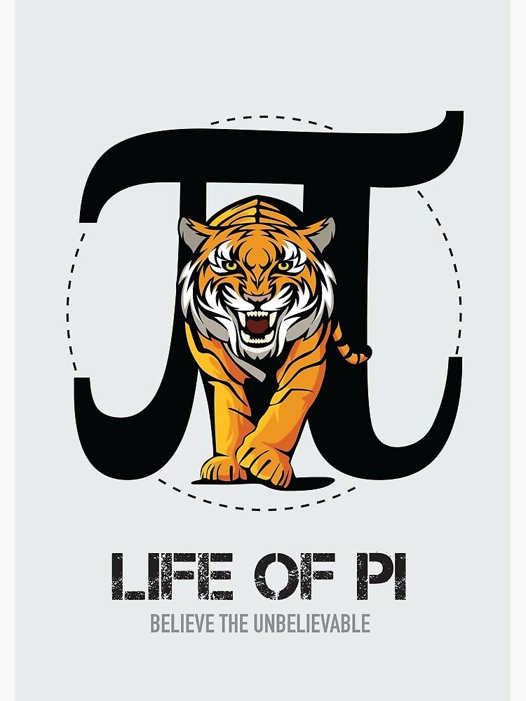 Life of Pi - Alternative Movie Poster by MoviePosterBoy