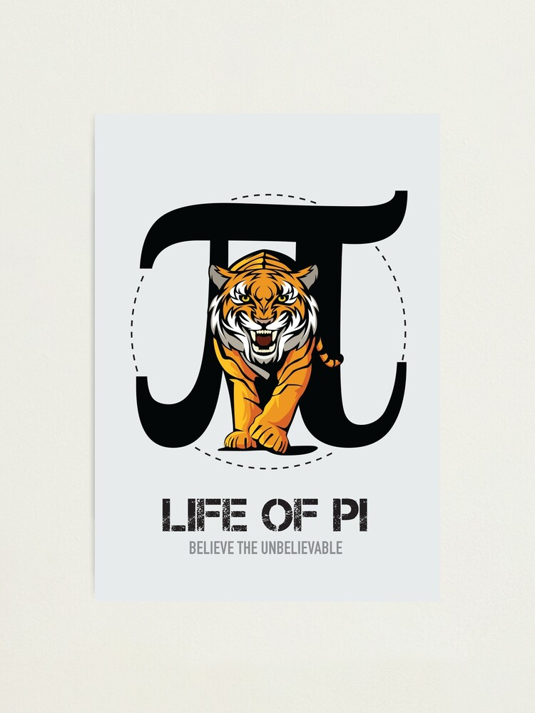 Alternate view of Life of Pi - Alternative Movie Poster Photographic Print