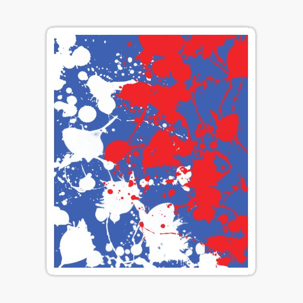Rovers Paint Spill Sticker