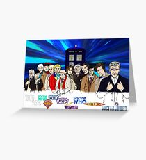 13 Doctors Greeting Card