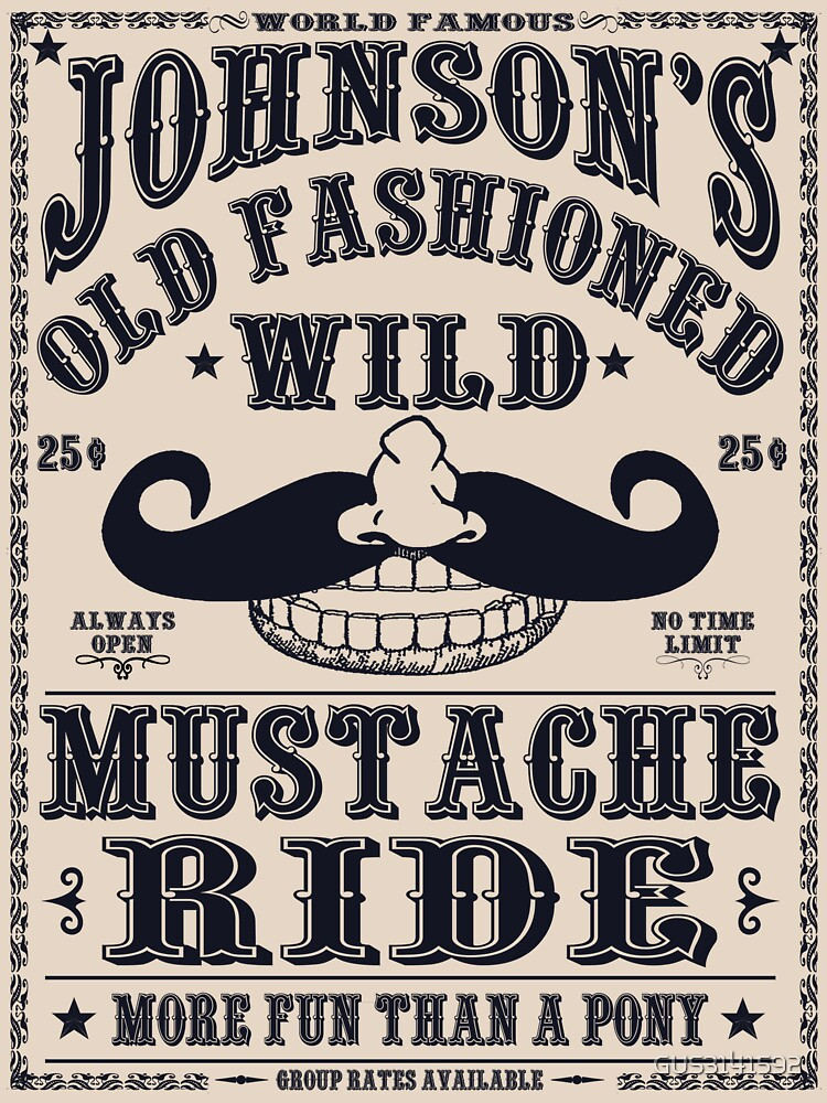 MUSTACHE RIDE | Unisex T-Shirt