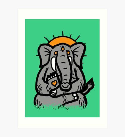 Spirit Elephant Art Print
