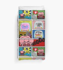 Capitan Cerdicola With Peppa Pig As Special Guest Star Duvet Cover