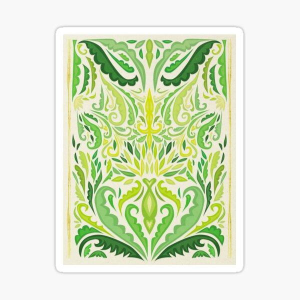 Art Nouveau: Dandelion Sticker