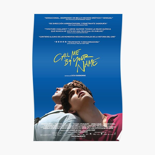 CMBYN Love Poster