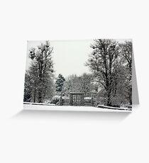 Iron Gate, Petworth Park. Greeting Card