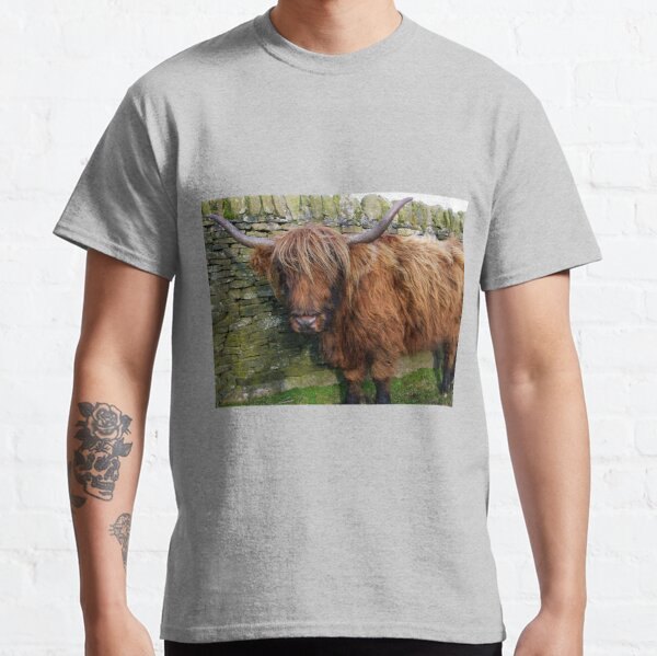 Ginger Highland Coo Classic T-Shirt
