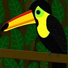 Toucan in the Jungle by Anglofile