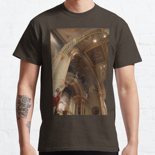 Altar of the Reservation (Chancel) - St. Mary's Historical Church Classic T-Shirt