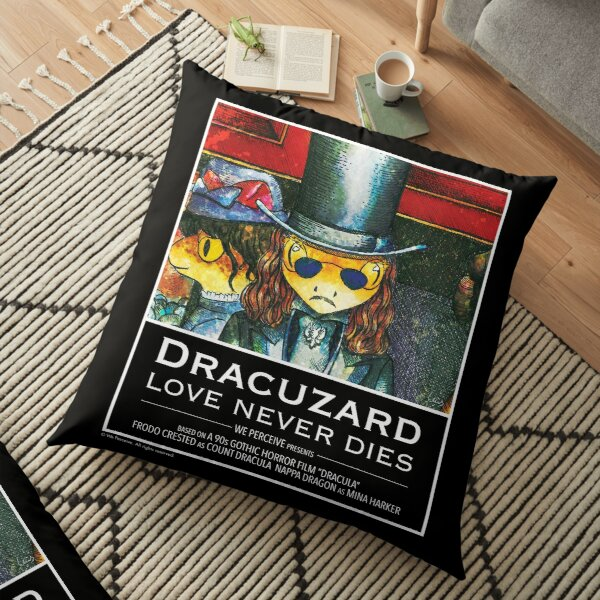 Movie inspired collection - Dracuzard - Count Dracula Floor Pillow