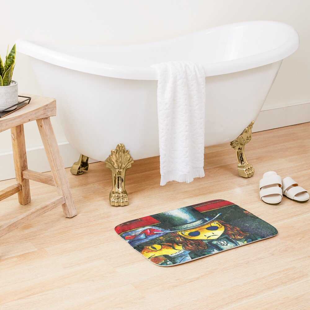 Movie inspired collection - Dracuzard - Count Dracula Bath Mat
