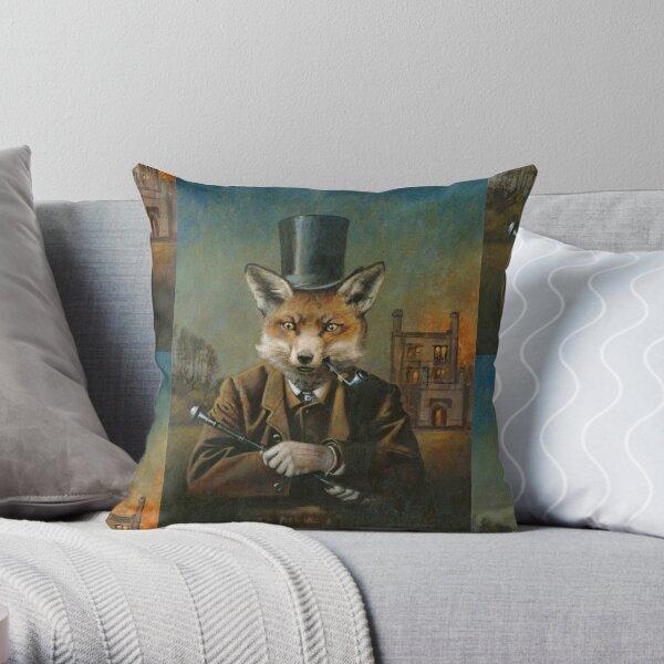 Le renard dapper Coussin