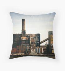 Sugar Factory - Brooklyn - New York City Throw Pillow