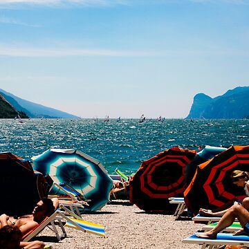 Relaxing in Torbole, Lake Garda. by stunnerfield