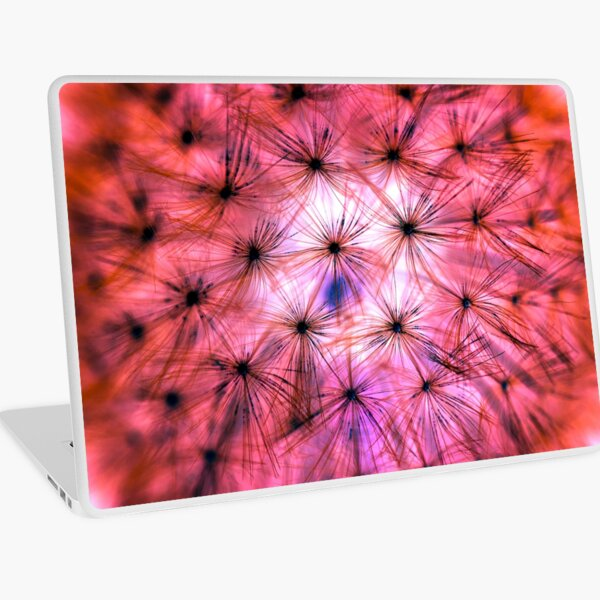 Dandelion Seed Head Laptop Skin