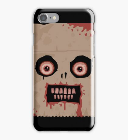 Psycho Sack Monkey iPhone Case iPhone Case/Skin
