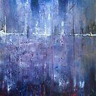 Abstract Purple Landscape by Samuel Durkin