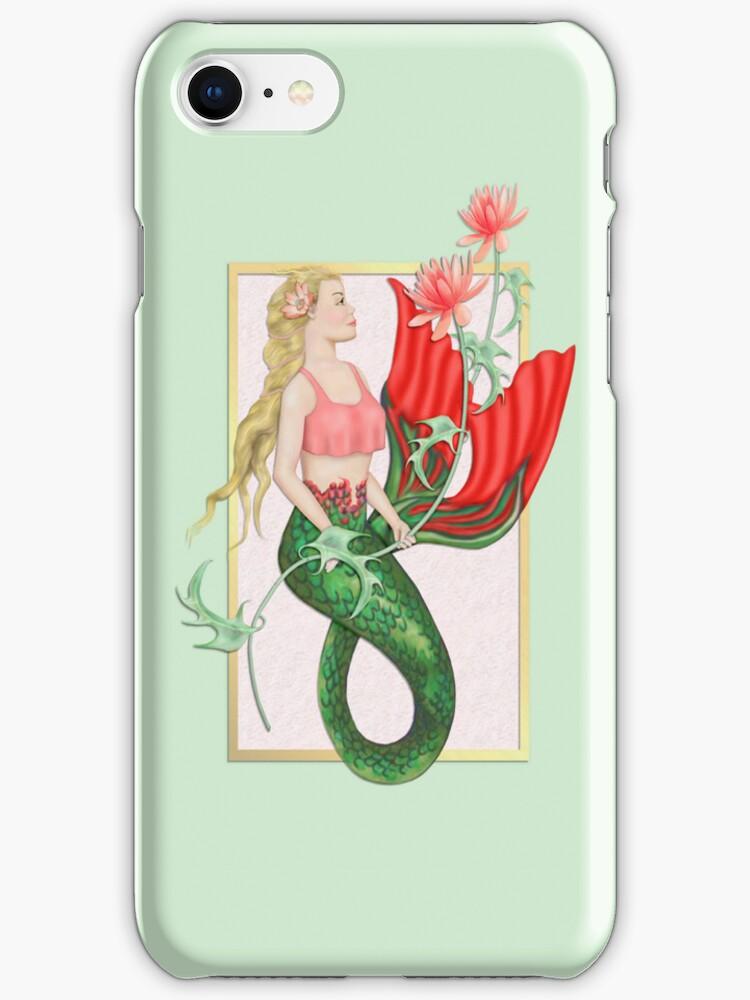 Waterlily Mermaid by SpiceTree