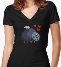 Gloomer, Don't Starve Women's Fitted V-Neck T-Shirt