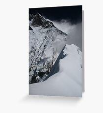 Lhotse From Island Peak Greeting Card