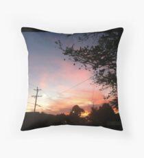 Sayonara Sunset, Tastefully Tacky Throw Pillow
