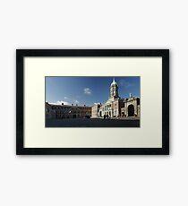 Dublin Castle panorama Framed Print