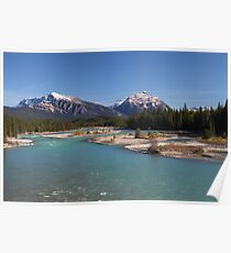 Icefields Parkway Poster