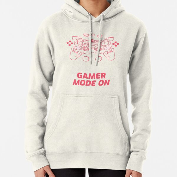 Gamer Mode On Pullover Hoodie