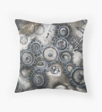 Processing Creative Thought Throw Pillow