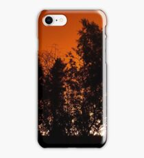 Apocalyptic skies over Yellowknife-wildfires-summer of 2014 iPhone Case/Skin