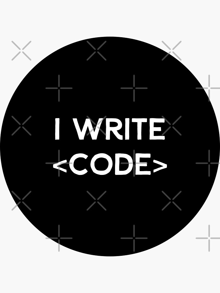 I Write Code by developer-gifts