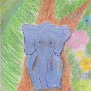 An Elephant Knows Best by VictoriaGarden