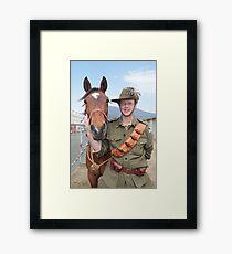 The Australian Light Horse - Royal Hobart Show 2011 Framed Print