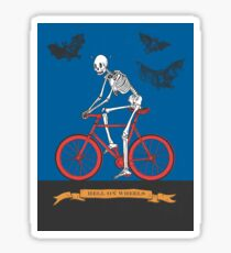 Hell On Wheels Sticker