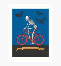 Hell On Wheels Art Print