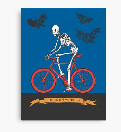 Hell On Wheels Canvas Print