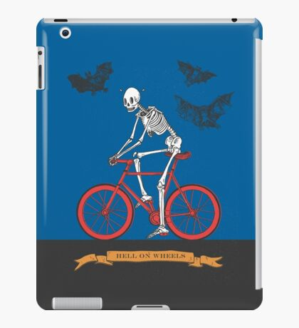 Hell On Wheels iPad Case/Skin