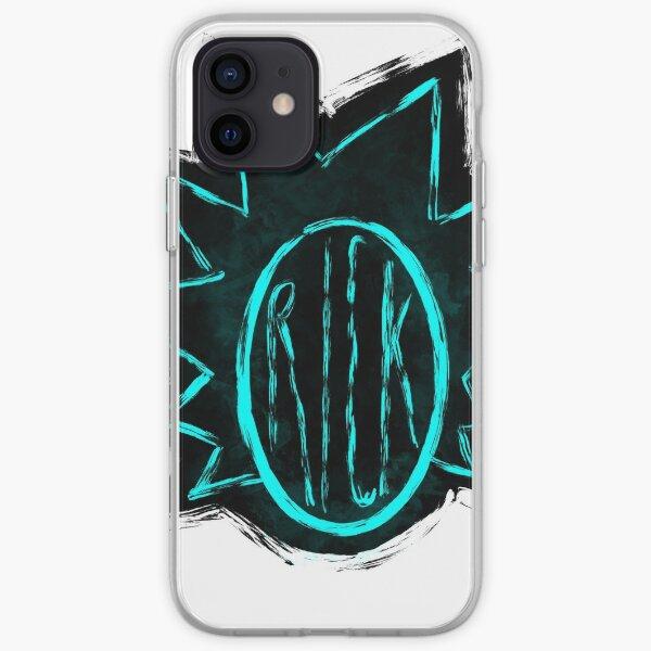 Rick Sanchez neon - Rick and Morty iPhone Soft Case