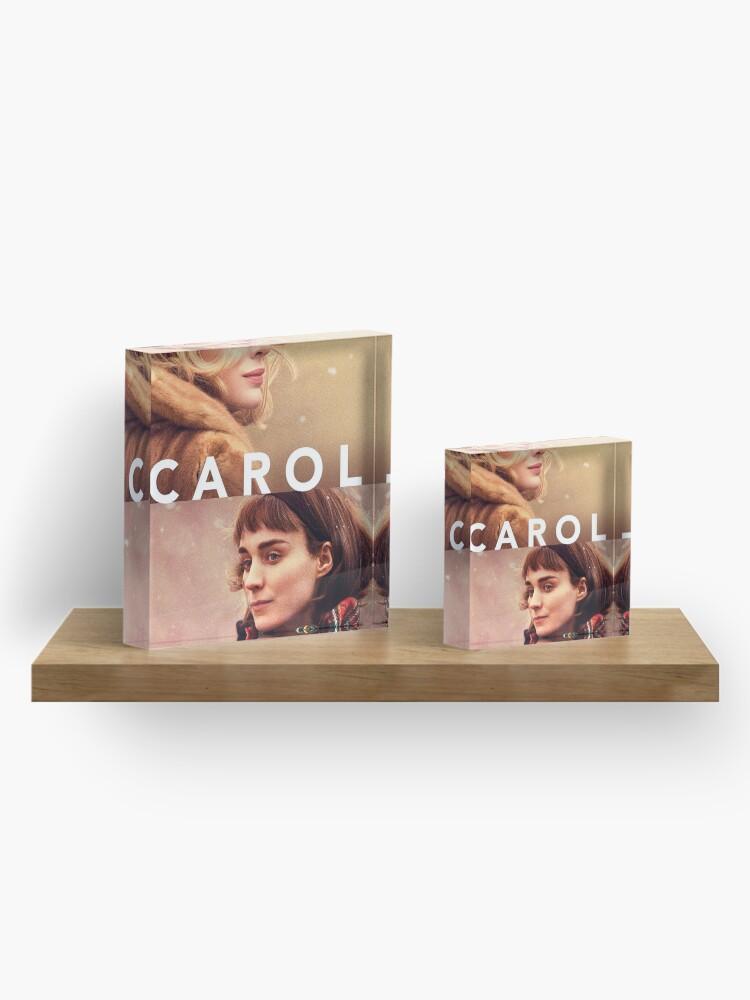 Alternate view of Carol Acrylic Block