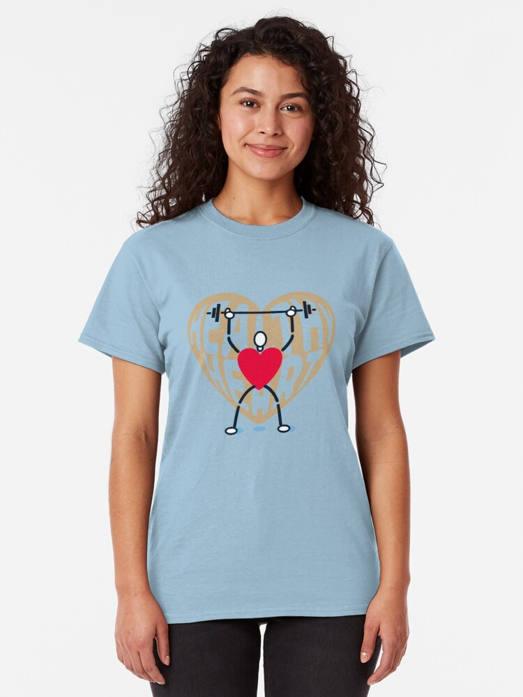 Alternate view of Healthy Heart Classic T-Shirt