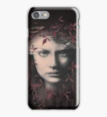 It's raining crimson leaves... iPhone Case/Skin