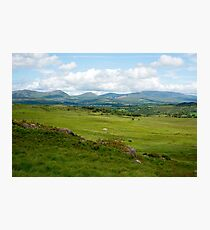landscape view of a beautiful hiking route Photographic Print
