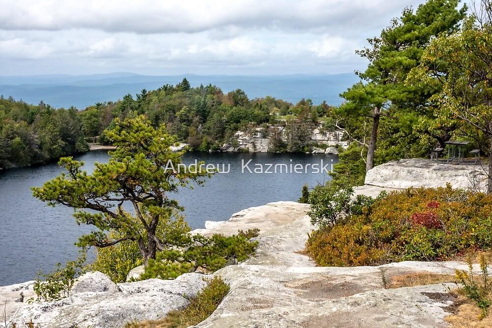 Lake Minnewaska View by andykazie