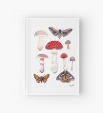Moths and Mushrooms  Hardcover Journal