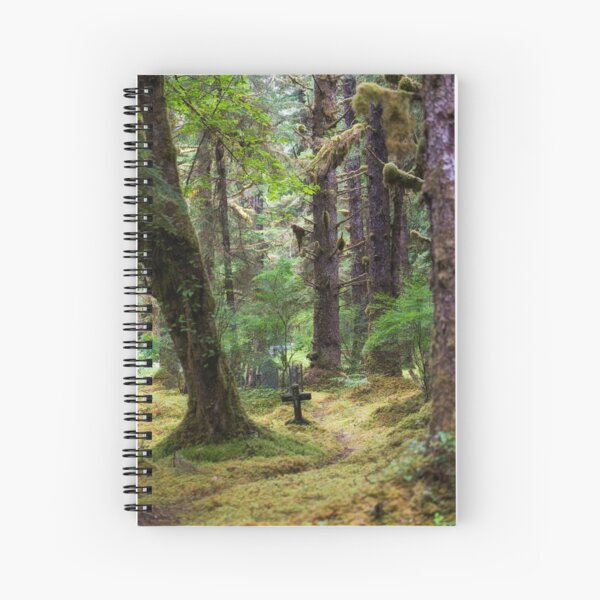 Memory Trail Spiral Notebook