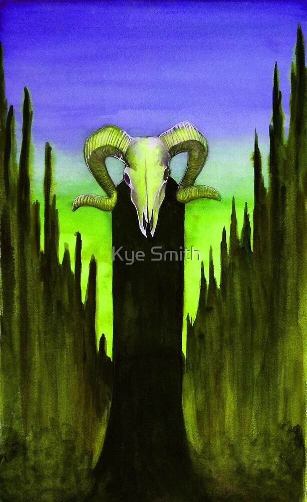Devil - Green and Violet edit by Kye Smith