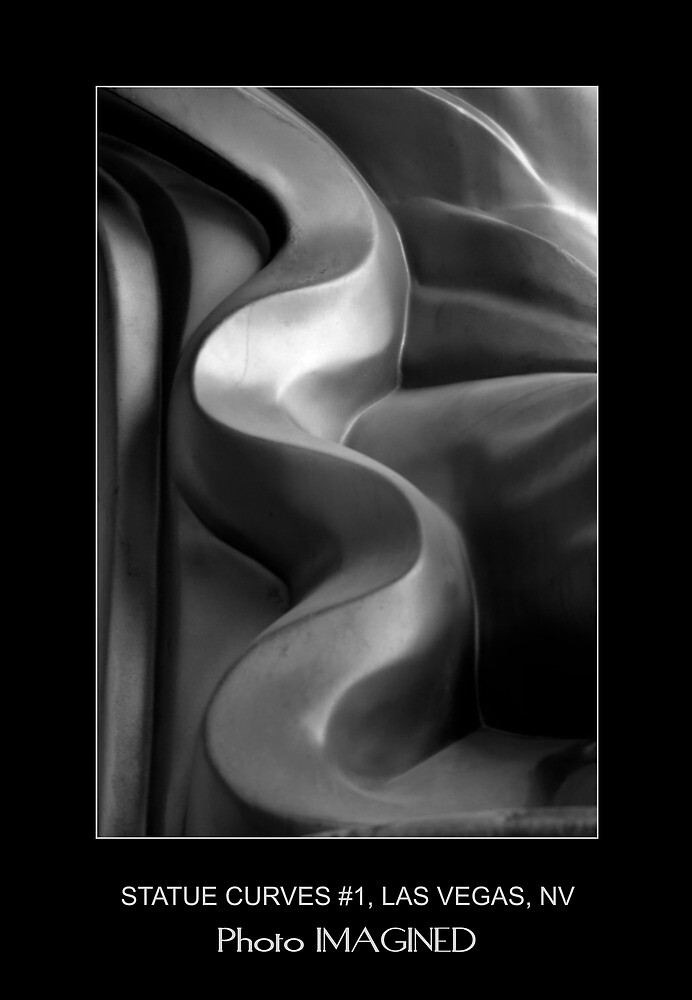 STATUE CURVES #1, MGM GRAND, LAS VEGAS NV. by PhotoIMAGINED